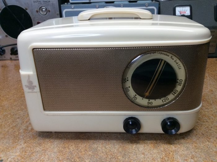 Emerson 543 Update   Golden Radio Repair - Tube Radio Repair